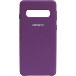 Накладка SA G973 S10 purple Soft Case