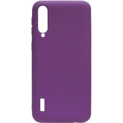Накладка Xiaomi Mi A3/CC9e purple Soft Case