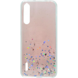 Накладка Xiaomi Mi A3/CC9e pink/silver Confetti