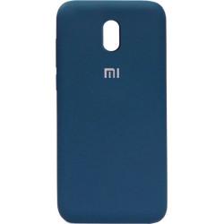 Накладка Xiaomi Redmi 8A dark blue Soft Case