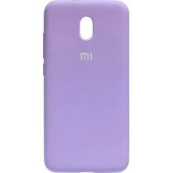 Накладка Xiaomi Redmi 8A light violet Soft Case