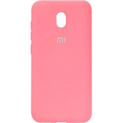 Накладка Xiaomi Redmi 8A pink Soft Case