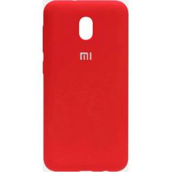Накладка Xiaomi Redmi 8A red Soft Case