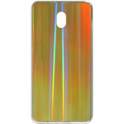 Накладка Xiaomi Redmi 8A gold rainbow Chameleon Glass