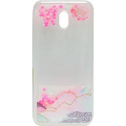 Накладка Xiaomi Redmi 8A pink Stars аквариум