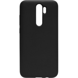 Накладка Xiaomi Redmi Note 8 Pro black Soft Case