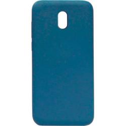 Силикон Xiaomi Redmi 8A blue Silicone Case Molan