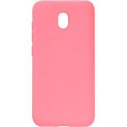 Силикон Xiaomi Redmi 8A pink Silicone Case Molan