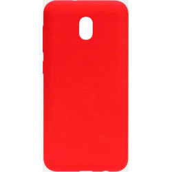 Силикон Xiaomi Redmi 8A red Silicone Case Molan