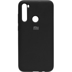 Силикон Xiaomi Redmi Note 8 black Silicone Case
