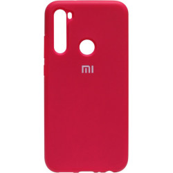 Силикон Xiaomi Redmi Note 8 bordo Silicone Case