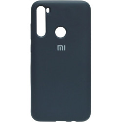 Силикон Xiaomi Redmi Note 8 dark blue Silicone Case