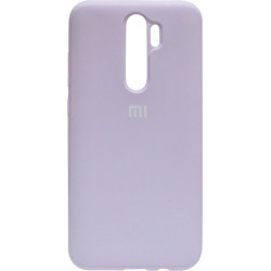 Силикон Xiaomi Redmi Note 8 Pro light violet Silicone Case