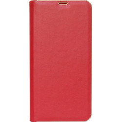 Чехол-книжка Xiaomi Redmi Note 8 red leather Florence