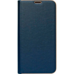 Чехол-книжка Xiaomi Redmi Note 8 Pro dark blue leather Florence