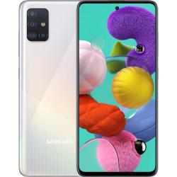 Samsung Galaxy A51 4/64GB White (SM-A515FZWUSEK) UA-UCRF Оф. гарантия 12 мес. + FULL-комплект аксессуаров*
