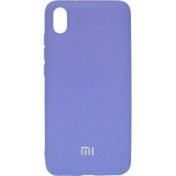 Накладка Xiaomi Redmi 7A light violet Soft Case