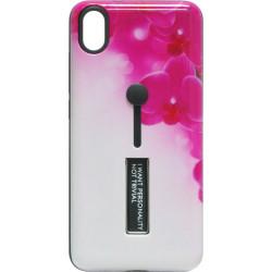 Накладка Xiaomi Redmi 7A pink Flowers Hold