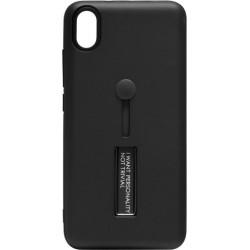 Накладка Xiaomi Redmi 7A black Hold Soft Touch
