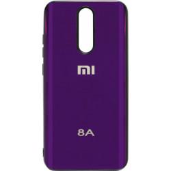 Накладка Xiaomi Redmi 8A violet Metal Glass