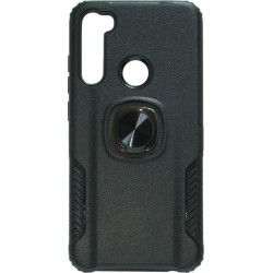 Накладка Xiaomi Redmi Note 8 black Magnet Ring Hard Case
