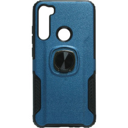 Накладка Xiaomi Redmi Note 8 blue Magnet Ring Hard Case