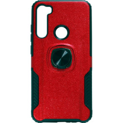 Накладка Xiaomi Redmi Note 8 red Magnet Ring Hard Case