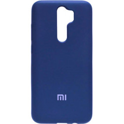 Накладка Xiaomi Redmi Note 8 Pro blue Soft Case