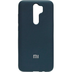 Накладка Xiaomi Redmi Note 8 Pro dark blue Soft Case