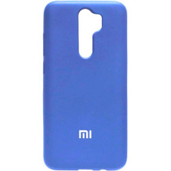 Накладка Xiaomi Redmi Note 8 Pro light blue Soft Case