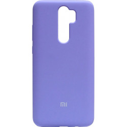 Накладка Xiaomi Redmi Note 8 Pro light violet Soft Case