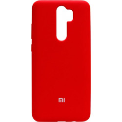 Накладка Xiaomi Redmi Note 8 Pro red Soft Case