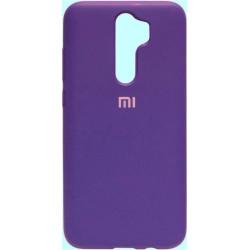 Накладка Xiaomi Redmi Note 8 Pro violet Soft Case