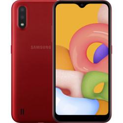 Samsung Galaxy A01 2/16GB Red (SM-A015FZRD) UA-UCRF Оф. гарантия 12 мес.