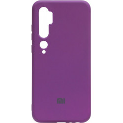 Силикон Xiaomi Mi Note10/CC9 Pro purple Silicone Case