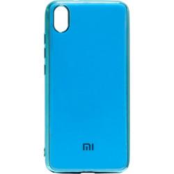 Силикон Xiaomi Redmi 7A blue Gloss