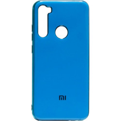 Силикон Xiaomi Redmi Note 8 blue Gloss