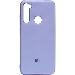Силикон Xiaomi Redmi Note 8 light violet Gloss