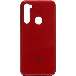 Силикон Xiaomi Redmi Note 8 red Gloss