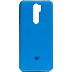 Силикон Xiaomi Redmi Note 8 Pro blue Gloss