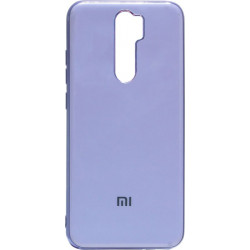 Силикон Xiaomi Redmi Note 8 Pro light violet Gloss