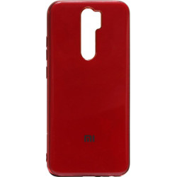 Силикон Xiaomi Redmi Note 8 Pro red Gloss