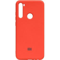 Силикон Xiaomi Redmi Note 8T orange Silicone Case