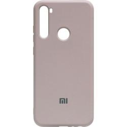Силикон Xiaomi Redmi Note 8T peach Silicone Case
