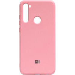 Силикон Xiaomi Redmi Note 8T pink Silicone Case