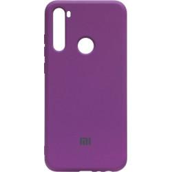 Силикон Xiaomi Redmi Note 8T purple Silicone Case