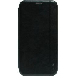 Чехол-книжка Xiaomi Redmi 8 black Leather Gelius