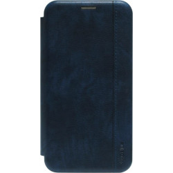 Чехол-книжка Xiaomi Redmi 8 dark blue Leather Gelius