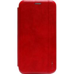 Чехол-книжка Xiaomi Redmi 8 red Leather Gelius