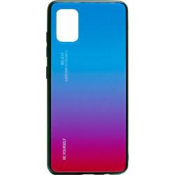 Накладка SA A51 pink/blue Gradient Glass
